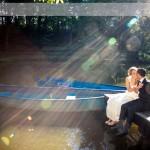 Fotografie romantica la conac