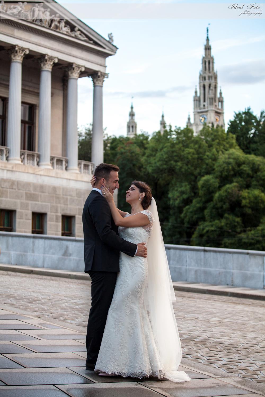 Foto Shooting Brautpaar Wien
