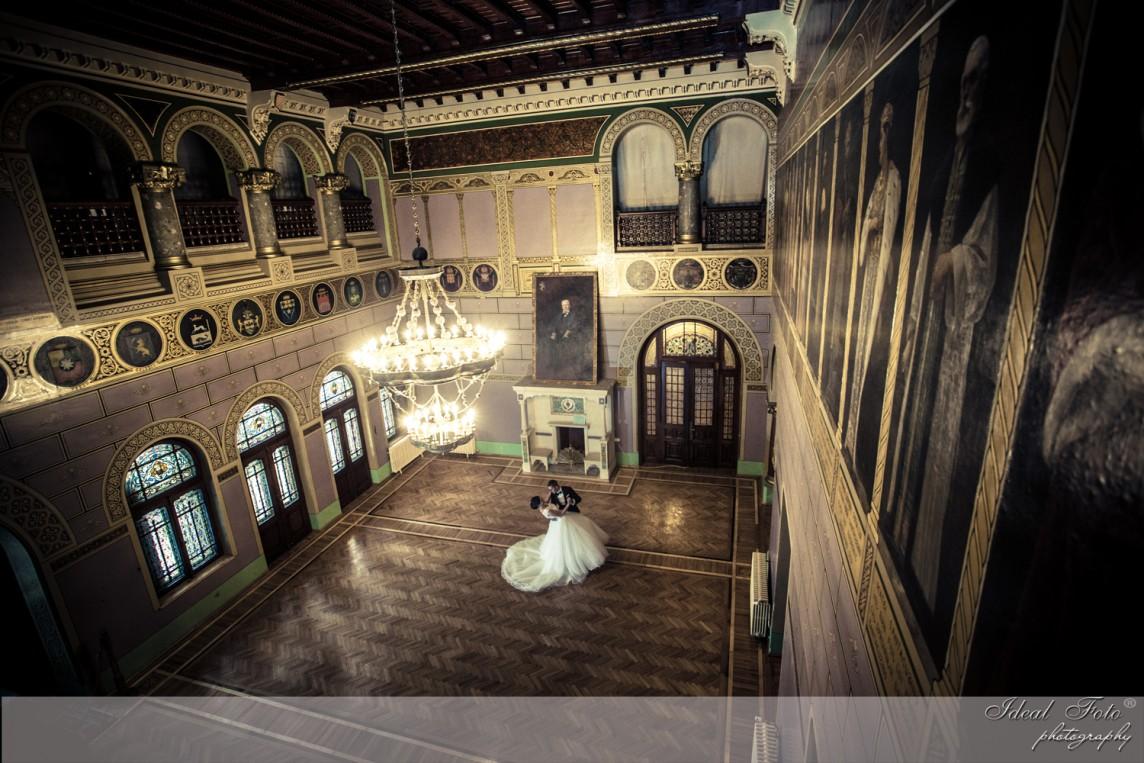 Sedinta foto nunta la palat
