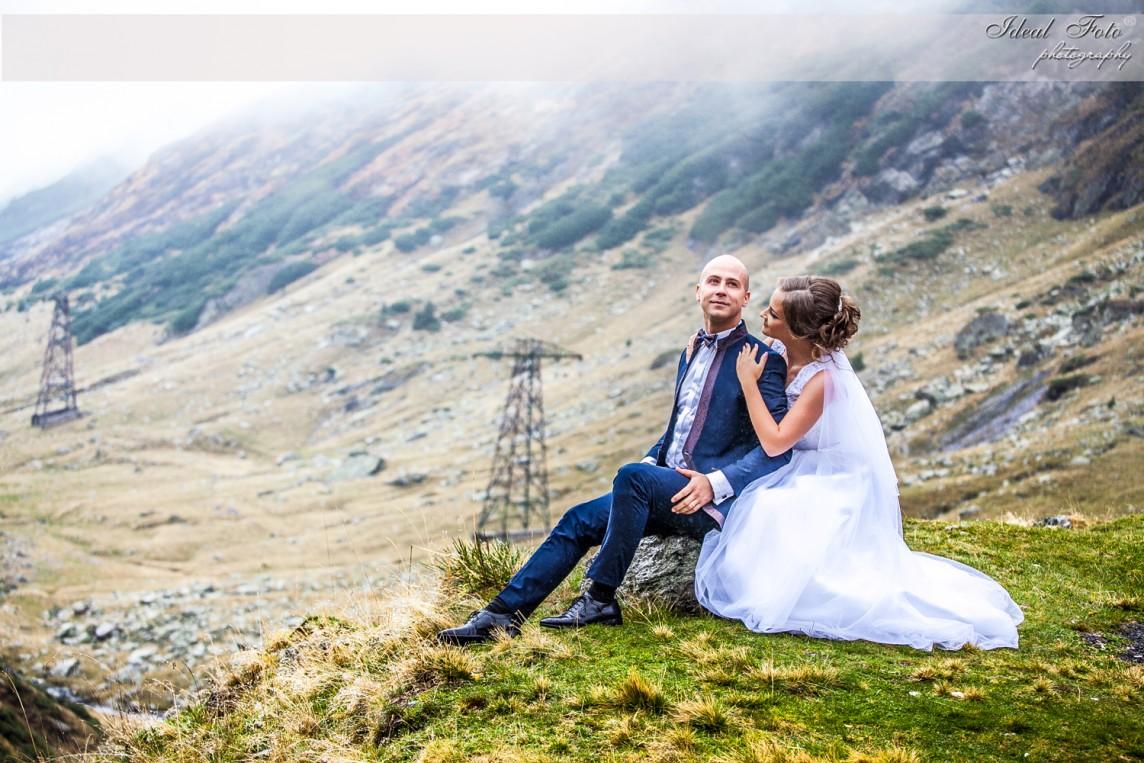 Sedinta foto nunta Transfagaran